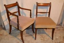 A Set of 8 19th Century Mahogany Dining Chairs
