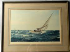 Montague Dawson Signed Limited Edition Coloured Marine Print