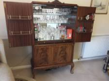 REPRODUCTION COCKTAIL CABINET